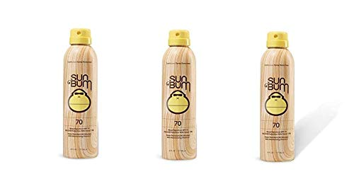 Sun Bum SPF 70 Spray Sunscreen - 3 Pack