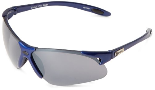 Sunbelt Rock 374 Rimless Sunglasses,Shiny Royal Blue,70 mm (Sunglasses Sunbelt)