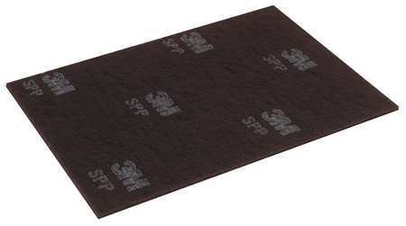 Scotch-brite 14'' x 20'' Non-Woven Rectangular Stripping Pad, 175 to 600 rpm, Maroon, 10 PK SPP14X20-1 Each by Scotch-Brite (Image #1)