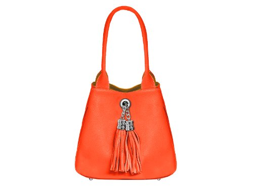 bijoux main Sac pour Orange femme scarlet Orange à dtwqUHt4