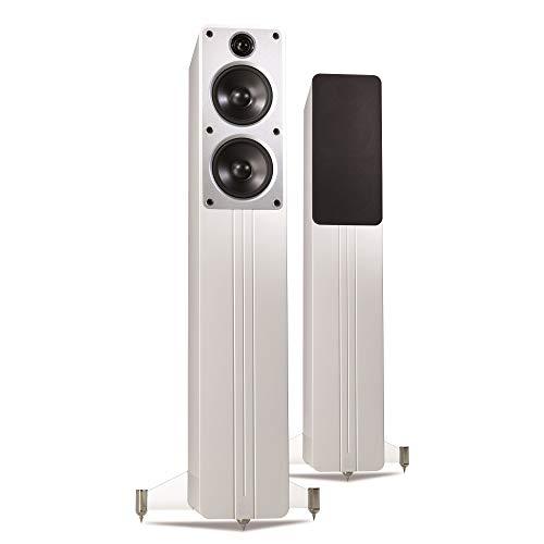 Q Acoustics Concept 40 Floorstanding Speaker Pair (Gloss White)