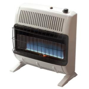 Heatstar By Enerco F156070 Ventfree Natural Gas Heater with Thermostat HSVFB30NGBT, Blue Flame, 30K