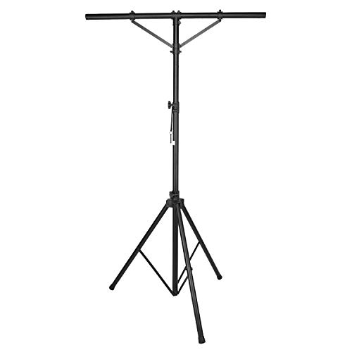 Neewer Stage Light Tripod Stand with T-Bar and 4 Hanging Bolts 66 Pounds Capacity 47-118 inches Adjustable Height for Marriage Stage Performance Party DJ Club Band and More