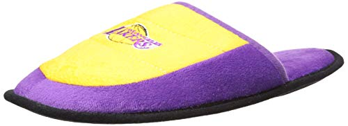 FOCO NBA Los Angeles Lakers Womens 2013 Open Back Scuff Slide SLIPPERLOS Angeles Lakers 2013 Open Back Scuff Slide Slipper Extra Large, Team Color, XL
