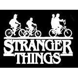 Stranger Things A Vinyl Sticker Wall Poster Bedroom Window Car Laptop Bike Decal