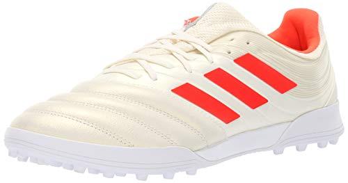 adidas Men's Copa 19.3 Turf, Solar red/White, 10 M US