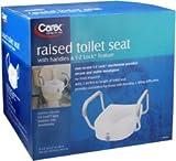 Carex Raised Toilet Seat B304-00 1 Each (Pack of 3)