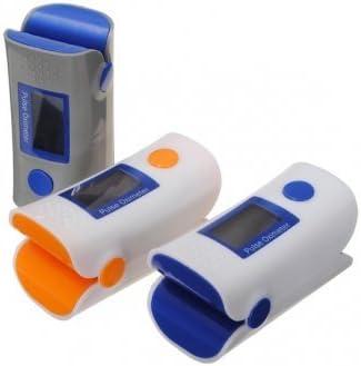 Hohe Qualität Home OLED Finger-Pulsoximeter SpO2-Monitor Fingertip Sauerstoffmonitor - Gray