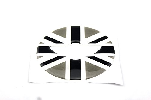 3D Steering Wheel Cover Dashboard Trim Sticker For BMW Mini Cooper ONE S JCW F Series F54 F55 F56 F57 F60 Countryman Clubman Union Jack (20)
