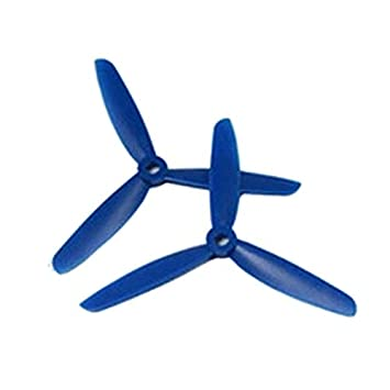 Auntwhale 2PCS Multi-Blade Drone Blue Propellers DALPROP T5045BN ...