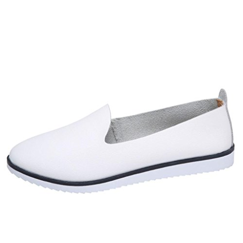 Neartime Promotion❤️Women Shoes, 2018 Fashion Flats Leather Shoes Shallow Slip On Leisure Lazy Comfortable Sandals by Neartime Sandals (Image #7)