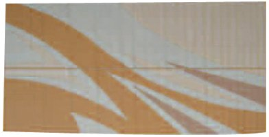 Tan Gold Flare (Patio Mats 062 8' x 16' Tan/Gold Flare Reversible Patio Mat)
