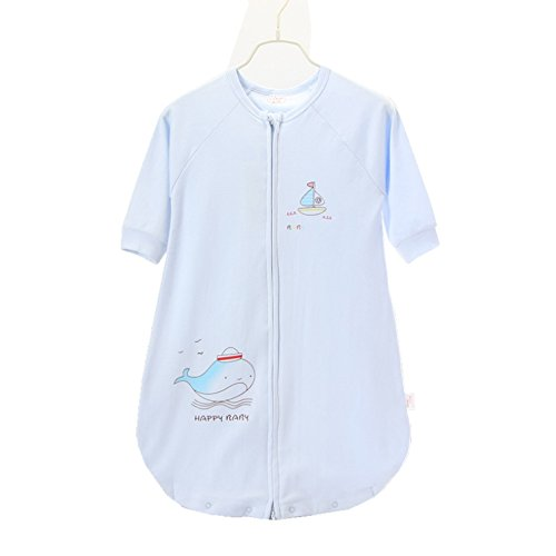 Baby Sleeping Bag Sleep Sack Bag Sleepingbag Sleepwear Short Sleeves Perfect Kids Gifts in Spring Summer 6-24 Months 35.4