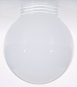 6-Inch Glass Shade with Screw-In Fitter