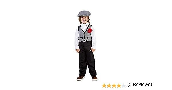 Disfraz de Madrileño Chulapo Niño (3-4 años): Amazon.es: Juguetes ...