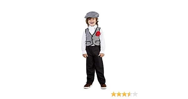 Disfraz de Madrileño Chulapo Niño (1-2 años): Amazon.es: Juguetes ...