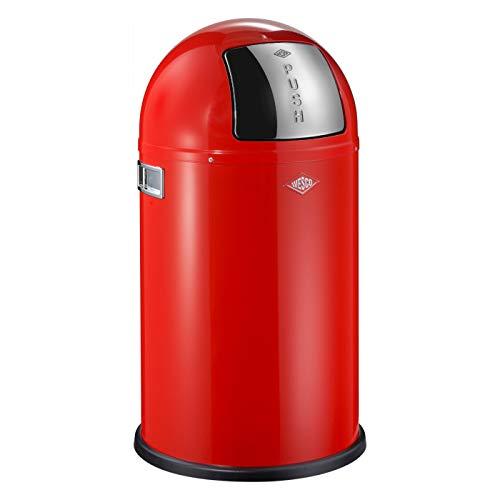 WESCO 175 531-02 - Cubo de la Basura, 22 l, Color Rojo