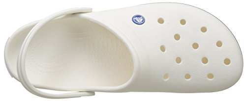 mixte 100 enfant Sabots Crocs Band White Weiß wzqYBEtB