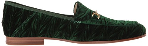 Edelman Women's Velvet Loafer Loraine Sam Emerald wfSFqwd