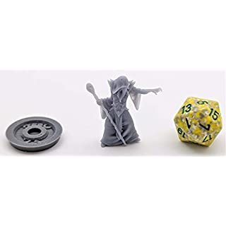 HERO Creations Mindflayer Miniature for Dungeon and Dragons - Pathfinder - Roleplaying Game-Tabletop -wargame (Unpainted/Gray)