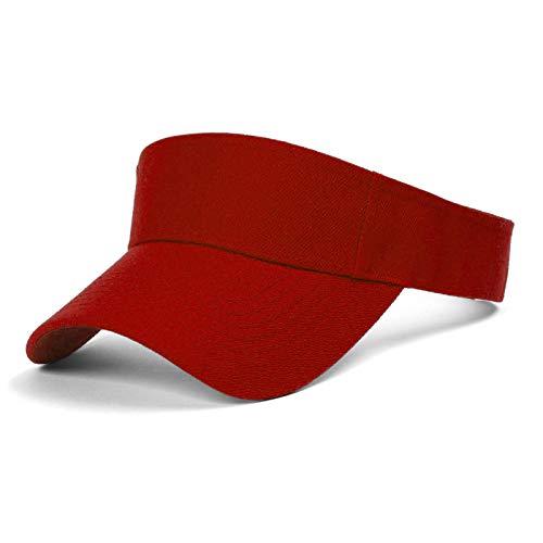 TopHeadwear Blank Kids Visor - Red