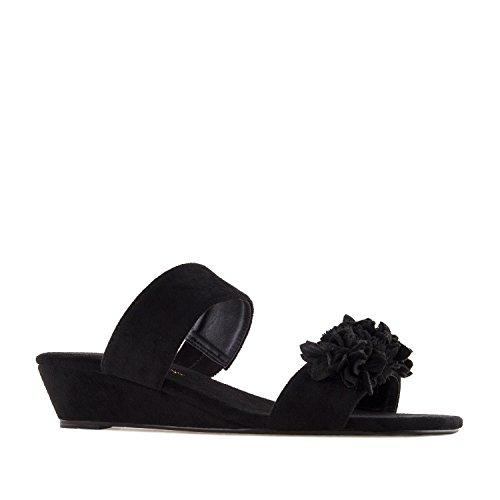 Des À À 42 45 10 Andres Bleu Am5281 Ciel Taille Fleur Sandals Uk Noir Machado Eu Suède 5 Daim 8 large BFwqg04Ax