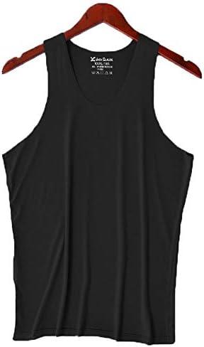 タンクトップ メンズ メンズ夏のベストタイトフィットVネックスポーツノースリーブトップジムトレーニングストレッチ速乾性ベスト 夏 スポーツ フィットネス (色 : C7, Size : XL)