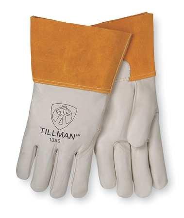 Welding Gloves, MIG, M, 12 In. L, Wing, PR by Tillman