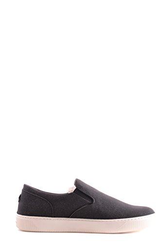 Moncler Damen MCBI212047O Schwarz Stoff Slip on Sneakers