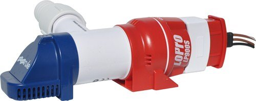 Rule LP900S Bilge Pump, Automatic, 12 Volt, 900 GPH