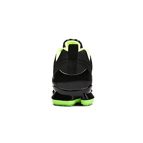Scarpe Casual Traspiranti Atletiche Da Corsa Sportive Da Corsa Sneakers Da Trail Runner Antiscivolo Da Uomo Mens Verde