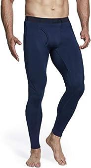 TSLA Compression Pants Men Thermal Base Layer Tights Sports Leggings
