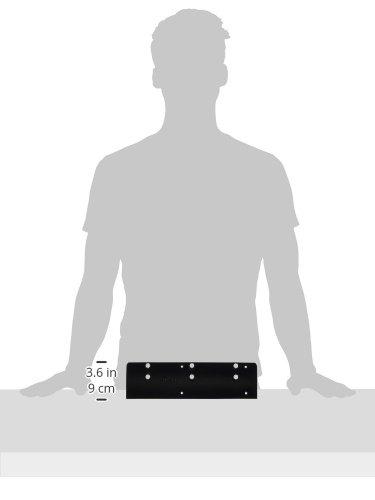 LCN 402018GBLK 4020-18G 693 Plate Black