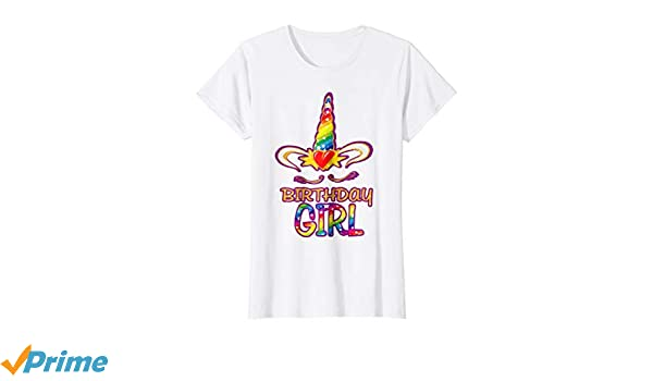 Amazon.com: Unicorn Birthday T Shirt Gift Kids camisa unicornio: Clothing