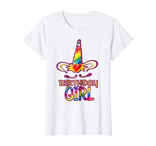 Unicorn Birthday T Shirt Gift Kids camisa unicornio