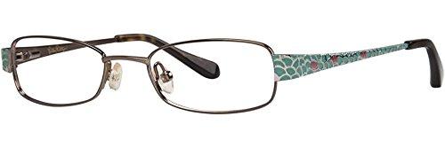 LILLY PULITZER Eyeglasses CAROLINA Brown 47MM