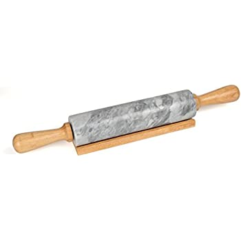 Amazon Com Norpro Marble Rolling Pin Kitchen Amp Dining