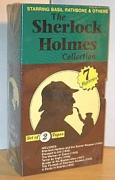 The Sherlock Holmes Collection: Volume 1: Sherlock Holmes and the Secret Weapon, Dressed To Kill, The Women In Green, Terror by Night - Volume 2: Murder at the Baskervilles, Triumph of Sherlock Holmes, A Study In Scarlet