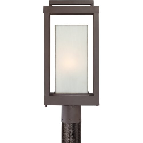 Quoizel PWL9009WT 1-Light Powell Outdoor Lantern in Western Bronze