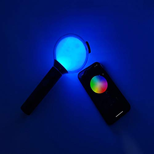 JTMall BTS Army Bomb Lightstick Ver 4 (SE) Map of The 7 Special Edition, Bluetooth Connection APP to Adjust The Light Color
