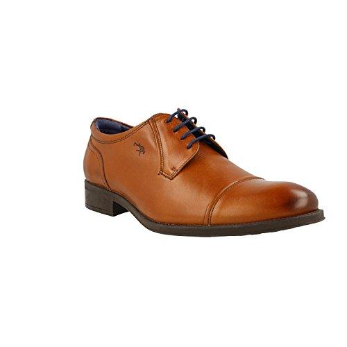 Fluchos- retail ES Spain Herren Heracles Derby-Schuhe Braun