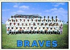 1967 Topps Regular (Baseball) Card# 477 Braves Team of the Atlanta Braves VG Condition by Topps