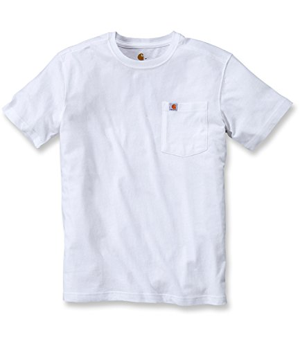 Blanc shirt Pocket Maddock Workwear T Carhartt wp1IqXn