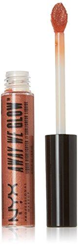 NYX Professional Makeup Away We Glow Liquid Highlighter, Rose Quartz, 0.22 Fluid (Liquid Rose Perfume)
