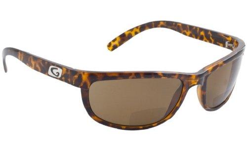 Guideline Eyegear Hatteras Bifocal ++2.00 Sunglass, Tortoise Frame, Freestone Brown Polarized Lens, - Polarized Sunglasses Guideline