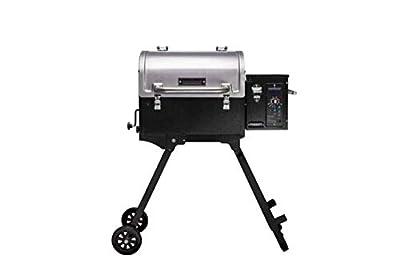 Camp Chef PPG20 Pursuit Portable Pellet Grill, Black,Silver