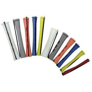 4 Dozen 48 Short Perm Rods Blue 1 4