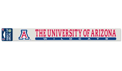 NCAA University Arizona Wildcats Official 2''x17'' Color Perfect Cut Decal by WinCraft