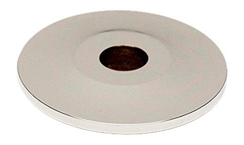 Alno A815-34P-PC Traditional Knobs Backplates, Polished Chrome, 3/4