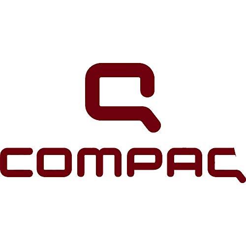NBFU DECALS Logo COMPAQ (Burgundy) (Set of 2) Premium Waterproof Vinyl Decal Stickers for Laptop Phone Accessory Helmet CAR Window Bumper Mug Tuber Cup Door Wall Decoration ()
